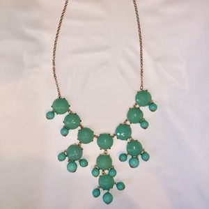 TEAL NECKLACE 🐠